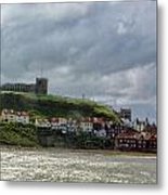 Over Looking Whitby Metal Print