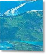 Over The Bend Metal Print