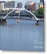 Over The Yarra Metal Print
