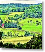Over Yonder Metal Print
