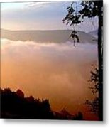 Overlook At Laurel Mountain 2012 Metal Print