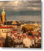 Overlook Prague Metal Print