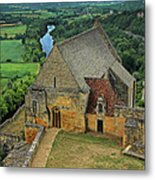 Overlooking The French Countryside Metal Print