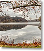 Overlooking The River Metal Print