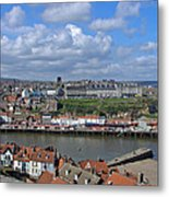 Overlooking Whitby Metal Print