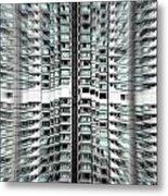 Overpopulation 2 Metal Print