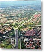 Overview Of Jakarta. Metal Print by TeeJe