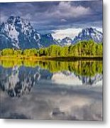 Oxbow Light Metal Print