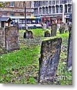 Oxford England Graveyard Metal Print
