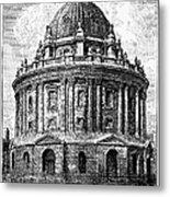 Oxford: Radcliffe Library Metal Print