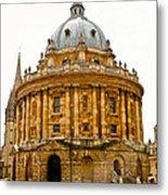 Oxford University Metal Print