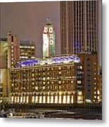 Oxo Tower Night   Metal Print