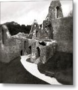 Oystermouth Castle Metal Print