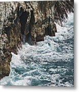 Pacific Coast Highway Seascape Metal Print