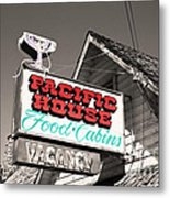 Pacific House Metal Print