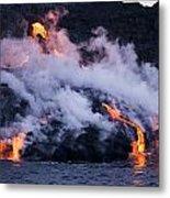 Pacific Lava Flow II Metal Print