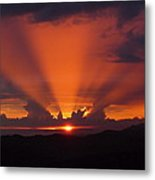 Pacific Sunset Metal Print by Gregory Young