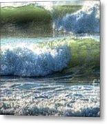 Pacific Waves Metal Print