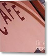 Pacifica Pier Cafe Metal Print