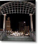 Pack Square Park Asheville Metal Print