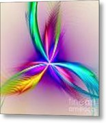 Pacock-feathers Metal Print