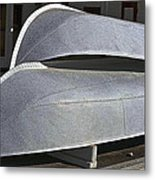 Paddle Wheeler Lifeboats Metal Print