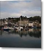 Padstow Harbour Metal Print