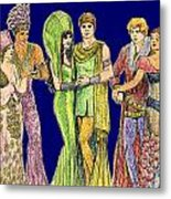 Pageant Couples Metal Print