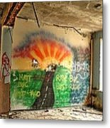 Paint Me An Escape Metal Print by Heather  Boyd