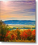 Paint Valley From Valley View Golf Metal Print