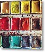 Paintbox Metal Print