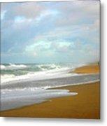 Painted Beach Metal Print