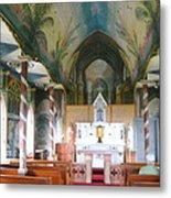 Painted Church Of Hawaii Metal Print