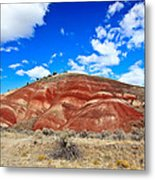 Painted Hills In Eastern Oregon Metal Print