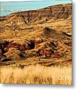 Painted Hills In Sheep Rock Metal Print