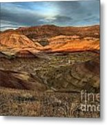 Painted Hills In The Fossil Beds Metal Print