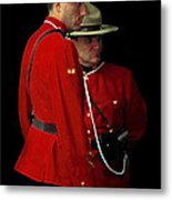 Painted Mounties Metal Print