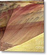 Painted Patterns Metal Print by Mike  Dawson