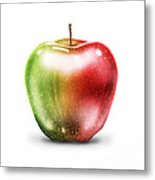 Painting Of Apple Metal Print