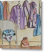 Pajamas Metal Print by Jennifer Dewey