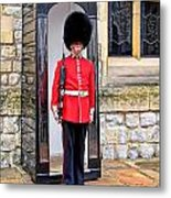 Palace Guard Metal Print