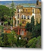 Palace Of The Arabian King - Ronda Metal Print