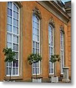 Palace Windows And Topiaries Metal Print