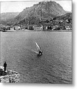 Palamidi Fortress - Greece - C 1907 Metal Print