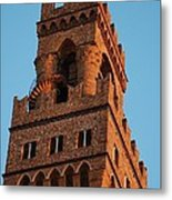 Palazzo Vecchio In Florence  Metal Print