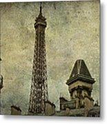 Pale Paris Metal Print by Georgia Fowler
