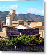 Palermo View Metal Print