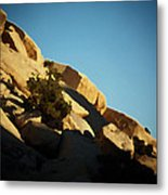 Palette Of The Contrasts That Are Rocks Metal Print