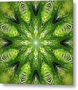 Palm Kaleidoscope 11 Metal Print