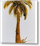South Carolina Palm Tree Metal Print